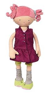 Sigikid 42251Lavanda Lavanda, 44cm Grandes de muñeca Suave y Decorativa Freche plástico muñeca con cuchillar Ropa