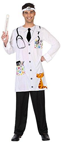 ATOSA 38623 Tierarzt mens M-L (Amazon Tierarzt Kostüm)