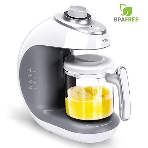 KYG Robot de Cocina al Vapor Procesador de alimentos para bebés 5...