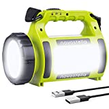 Ustellar Rechargeable CREE LED Torch, Multi-Functional Camping Light, Waterproof LED Spotlight Searchlight, High