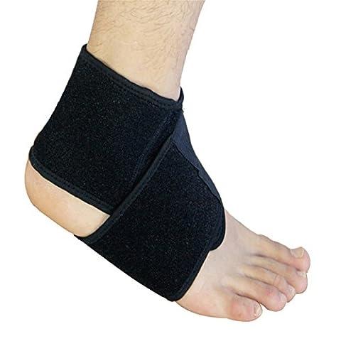 1Paar Knöchelbandage Verstellbare elastische Sport Knöchelstütze
