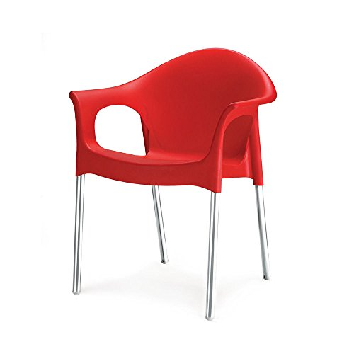 Nilkamal Novella Chair (Red)