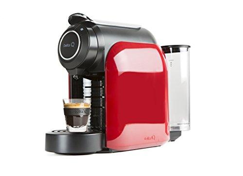 Delta Q 012872Qool Evolution - Cafetera de cápsulas color rojo, 44x 19,3x 33cm