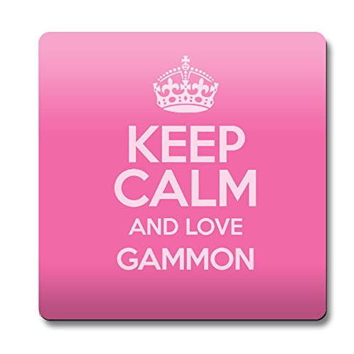 pink-keep-calm-and-love-gammon-coaster-colour-2495