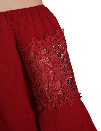 Ma Coquette -  T-shirt - Maniche lunghe  - Donna Rosso