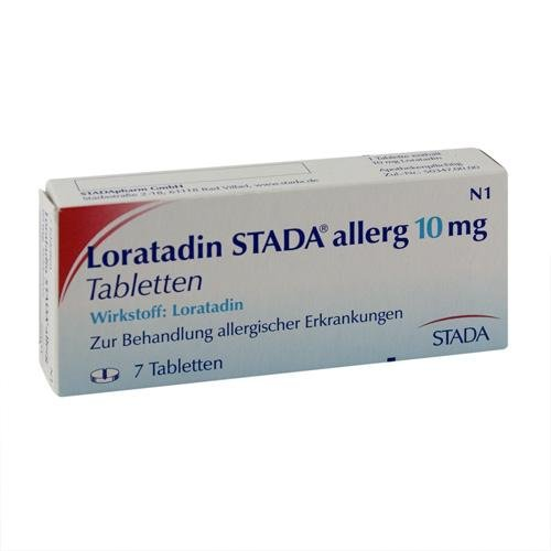 Loratadin STADA 10 mg Tabletten, 7 St