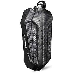 Funda universal para scooter eléctrico Manija de la bolsa de EVA Estuche rígido impermeable de usos múltiples con diseño de tira reflectante Compatible con Xiaomi M365 ES1 ES2 ES3 ES4 Negro 3L
