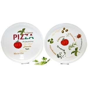 """Assiette à Pizza """"Pizza"""" / diamètre 30cm"""