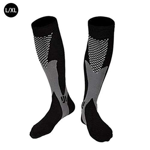 perfecthome Sport-Kompressionssocken, elastische Socken, Wasserdichte und Winddichte Mehrzweck-Langsocken, geeignet für Freien beim Wandern, Camping, Radfahren für Männer und Frauen