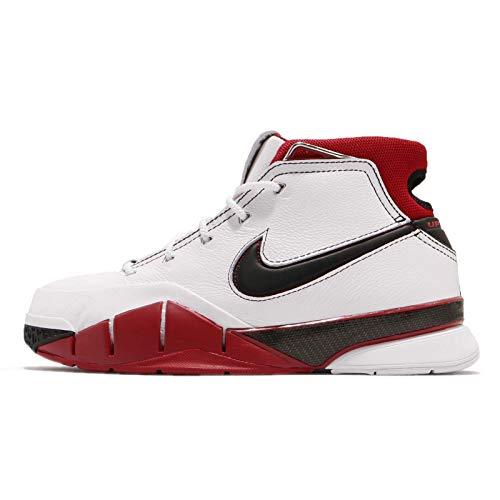 4eb08485f0ec4 Nike Kobe 1 PROTRO, Zapatillas de Deporte para Hombre, (White/Black/Varsity  Red 102), 40.5 EU