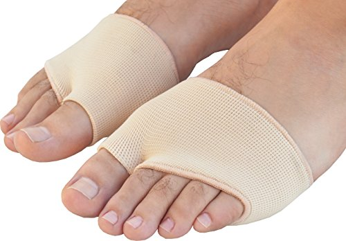 Medipaq® Metatarsal Gel Cushion - Relieve Ball of Foot Pain Now! (1x PAIR Size 7-12)
