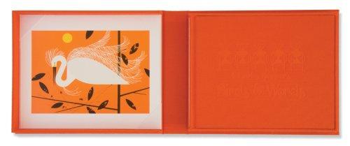 Charles Harper's Birds & Words [With Snowy Egret Print] - Snowy Egret Tiere