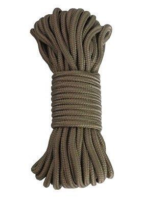 15 m Outdoor - Bundeswehr - Allzweck Reepschnur Tau Seil 5mm / 7mm / 9mm - für Survival, Bootsport, Sport, Camping, Segeln, Angeln, Fischen, Wandern - Original Inet-Trades GmbH Produkt (goldfarben, 7 mm)