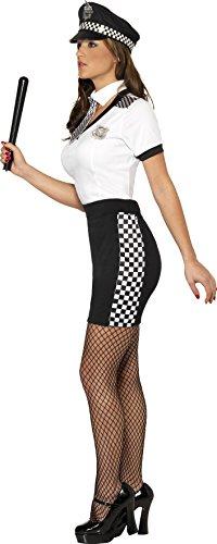 Smiffys-Disfraz-de-polica-para-mujer-talla-M-33701M