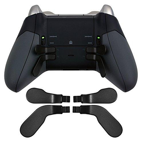 Sourcingmap Ersatzteile, für Xbox One Elite Controller, Metall, Edelstahl, Schwarz, 4 Stück