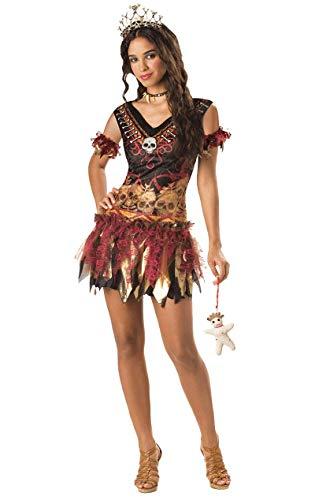 Vixen Kostüm Voodoo - InCharacter Luxus Kostüm 14030 'Voodoo Vixen' - mittelgroß