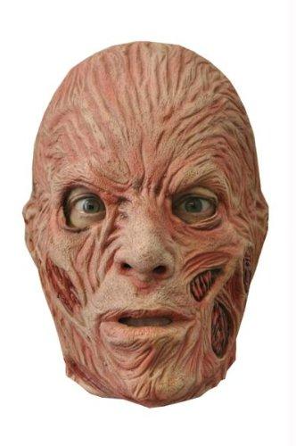 (Freddy Krueger Latx Adult Maske Halloween Kostueme Maske Gesicht Maske Over-the-Head-Maske Kostuem Stuetze Scary Creepy Schreckliche Maske Latex Maske fuer Maskerade Make-up Party)