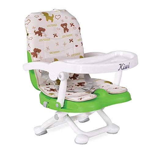 Kinderstuhl Kiwi, Kinder Stuhl-, Sitzerhöhung, Boostersitz, Tisch, klappbar grün
