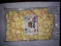 Captain Fruit Marshmallows (Halal) Multi Color Yellow & Pink, 500g