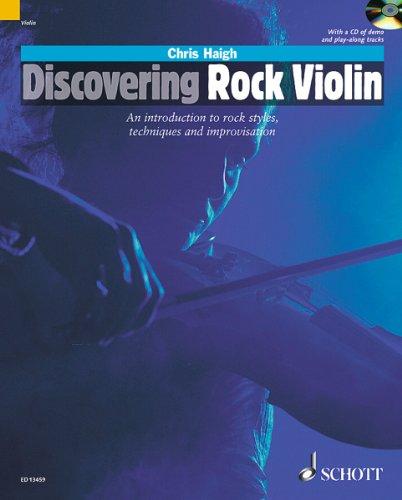 Discovering Rock Violin +CD --- Violon (...
