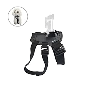 Sabrent Fetch (Dog Harness) Chest Strap Belt Mount for GoPro cameras [Compatible with all GoPro cameras] (GP-DGFH)