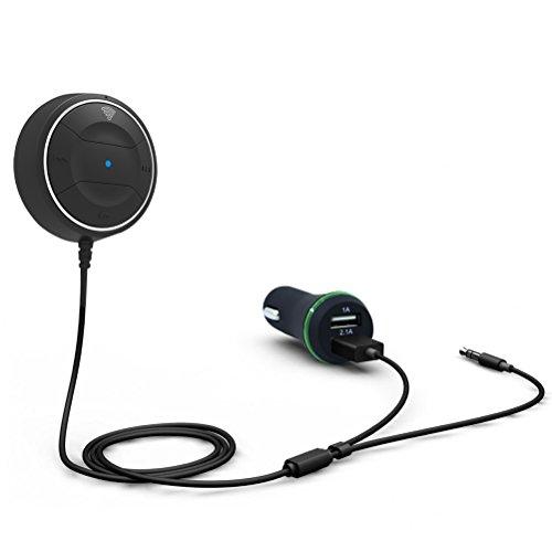 LEORX Portátil Bluetooth Receptor inalámbrico Bluetooth
