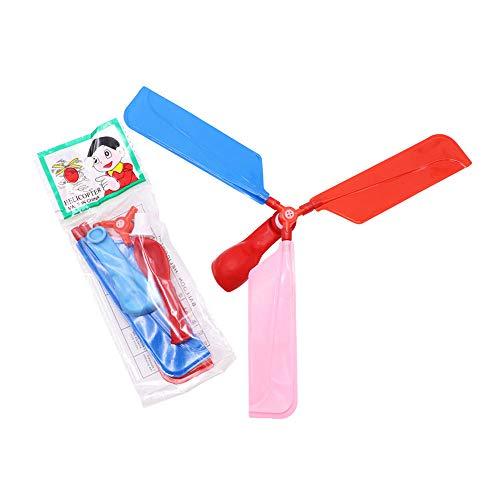 er Spielzeug Ballon Hubschrauber - Fliegende Spielzeug für Kindertag Geschenk Mitbringsel - Ostern Korb - Geschenkidee für Jungen und Mädchen - Outdoor fliegen Ballon ()