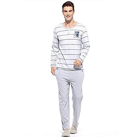 DMMSS Vêtements Pour Hommes Printemps Minces Peignoirs Coton Vêtements Décontractés