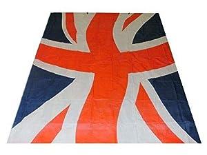 Gifts 4 All Occasions Limited SHATCHI-1148 Shatchi-Union - Mantel de plástico (137,16 x 182,88 cm), diseño de bandera de Reino Unido