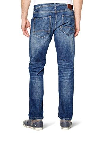 Mustang - Regular Fit - Herren 5-Pocket Jeans, Medium rise, Farben light scratched used und dark rinsed used - Michigan Straight (3135-5111) Light scratched used (583)