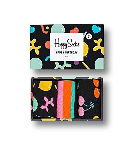 Happy Socks Happy Socks Gemischt farbenfrohe Geschenkbox an Baumwollsocken für Männer und Frauen,Balloon Animal,36-40