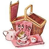 Egmont Toys Tin Tea Set Ladybug with Basket