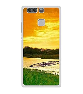 ifasho Designer Back Case Cover for Huawei P9 Plus (Incredible India Tourism Tiger Sher )