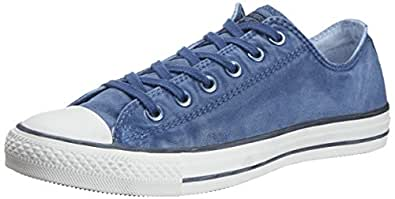 Converse International Unisex Blue Canvas Sneakers - 11 UK