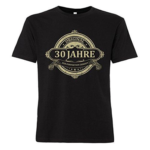 ShirtWorld - Original 30 Jahre - T-Shirt Schwarz