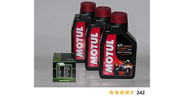 Motul Ester 4 T 710 10w40 Motoröl 3 L Mit Ölfilter 100 Synthetisch Alle Produkte