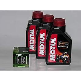 3 LT LITRI OLIO moto MOTUL 7100 10W40 + FILTRO OLIO 100% Sintetico NEW Ester 4 T (indicare modello moto e anno)