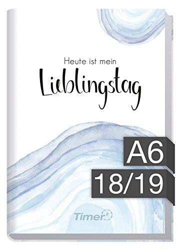 Chäff-Timer mini A6 Kalender 2018/2019 [Lieblingstag] 18 Monate Juli 2018-Dezember 2019 - Terminkalender mit Wochenplaner - Organizer - Wochenkalender