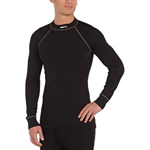 41%2BhgTgW%2BKL. SS300  - Craft Men's Active Crewneck Long Sleeve Base Layer Top