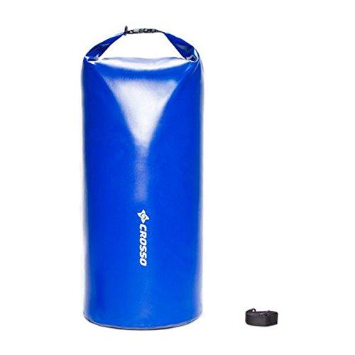 CROSSO CO1018 30L Transportbeutel wasserbeständig Fahrradtasche Gepäcktasche Blau