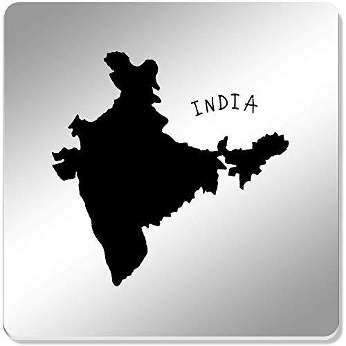 Azeeda 6 x 'Indien Land' Spiegel Untersetzer (CR00102471)