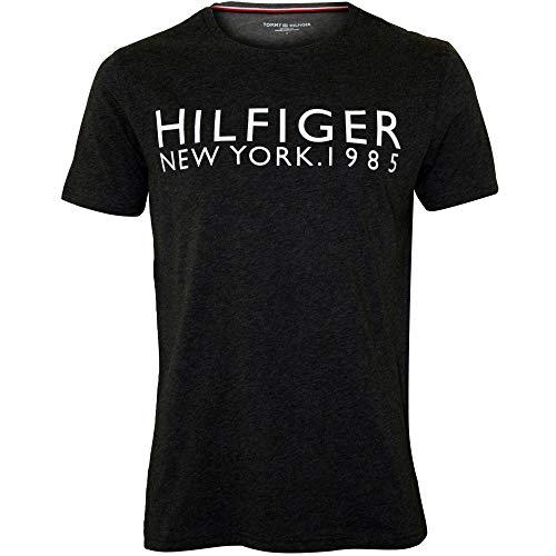 Tommy Hilfiger Hilfiger New York Men Men T-Shirt, Holzkohle Heiather Große -