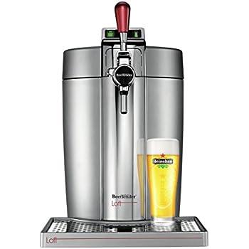 Krups VB700E00 Machine à Bière Beertender Loft Edition Argent/Chrome