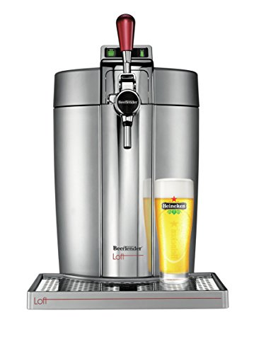 Krups VB700E00 Machine à Bière Beertender Loft Edition Argent/Chrome