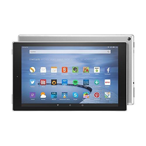 Fire HD 10-Tablet, 25,65 cm (10,1 Zoll) HD Display, WLAN, 64 GB (Silbermetallic) - mit Spezialangeboten (vorherige Generation)