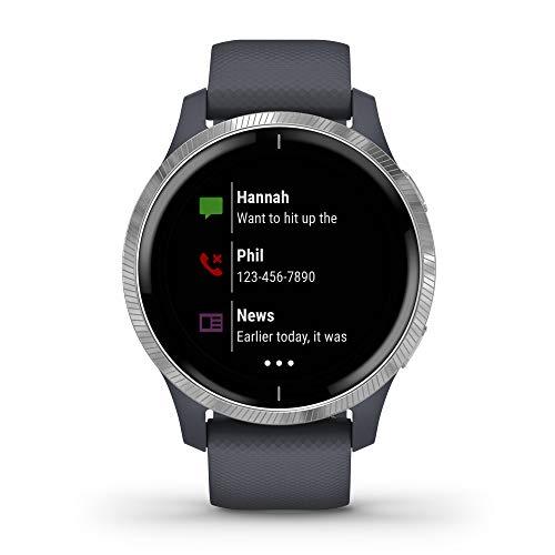Garmin Venu - Reloj inteligente GPS con una elegante pantalla brillante para un estilo de vida activo