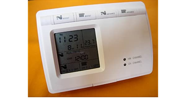 Digitalprogrammierer für Boiler, Zentralheizung, heißes Wasser ...