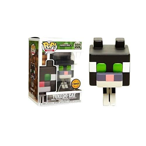 Third Party - Figurine Minecraft - Tuxedo Cat Chase Pop 10cm - 3700936114433