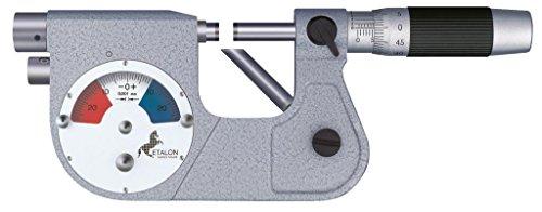 tesa 072108691micro-etalon 225Präzisions Mikrometer mit Messuhr, 25mm/50mm Messbereich