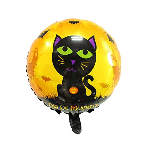 Lanlan Creative Multi Form Halloween Ballon für Kinder spielen Aluminium Film Weihnachten Halloween Dekoration Luftballons